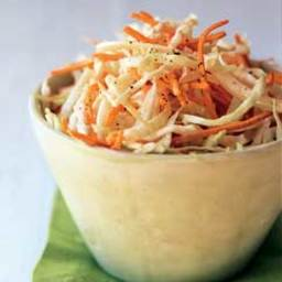 Cabbage, Fresh Fennel, and Carrot Slaw