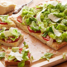 Caesar Salad Pizza
