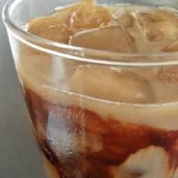 Café moka helado con Kahlua