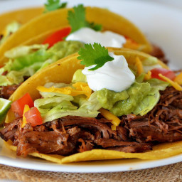 Cafe Rio Mexican Grill Shredded Beef Tacos