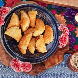 Cajeta Pineapple Empanadas