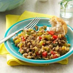 Cajun Beef and Rice Recipe
