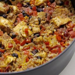 Cajun Chicken and Rice Casserole