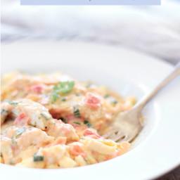 Cajun Chicken Pasta - Low Carb & Gluten Free