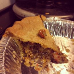 Cajun Crawfish Pie