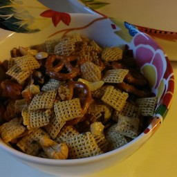 Cajun Party Mix Snack