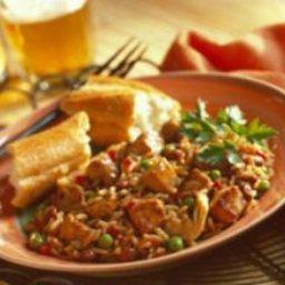 Cajun Pork Paella