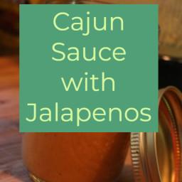 Cajun Sauce with Jalapenos