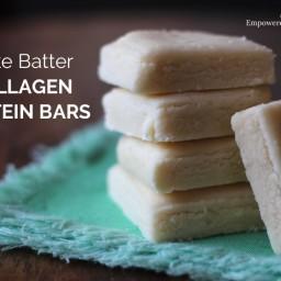Cake Batter Collagen Protein Bar Recipe