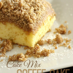 Cake Mix Coffee Cake
