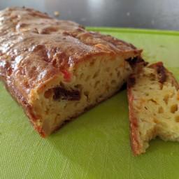 Cake salé pomme de terre - carotte - tomates séchées