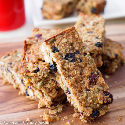 Cakey Oat, Fruit and Seed Bars