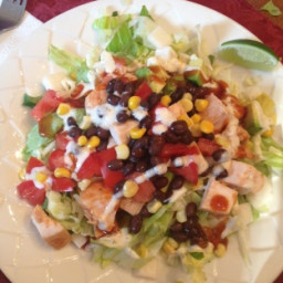 California Pizza Kitchens Bbq Chicken Salad