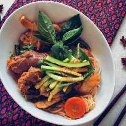 Cambodian Chicken Coconut Curry