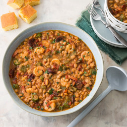 Camellia Brand Great Northern Beans with Andouille and Shrimp