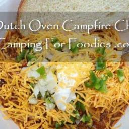 Campfire Dutch Oven Chili Recipe!