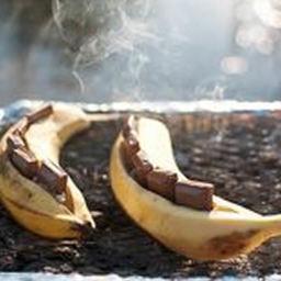 Camping - Banana Smores