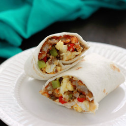 Camping Food: Breakfast Burritos