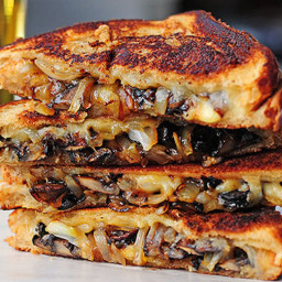 Camping - Grilled Cheese with Gouda