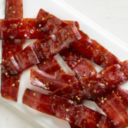Candied Turkey Bacon