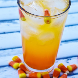 Candy Corn Mocktails