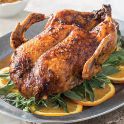 Cane Syrup-Glazed Roasted Duck