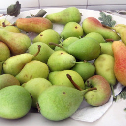 Canned Pears (Pere Sciroppate)