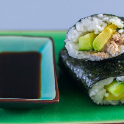 Canned Tuna Sushi for Kids
