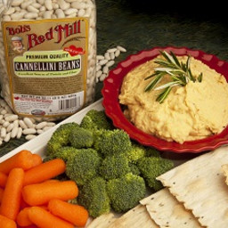 Cannellini Bean Spread with Rosemary