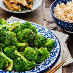 Cantonese Broccoli with Oyster Sauce