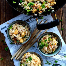 Cantonese Chicken & Salted Fish Fried Rice