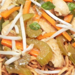 Cantonese Chicken Chow Mein Recipe