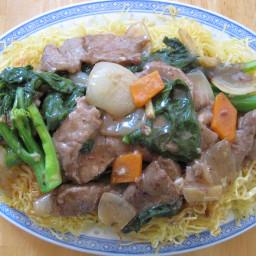 Cantonese chow mein (stir fry sauce)