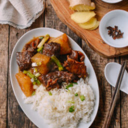 Cantonese Instant Pot Braised Beef with Radish