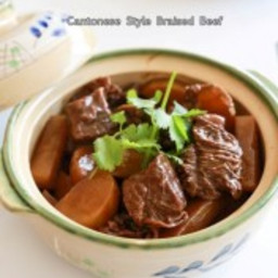 Cantonese Style Braised Beef Stew 炆牛腩
