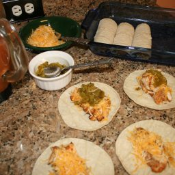 Canyon Ranch Grilled Chicken Enchiladas