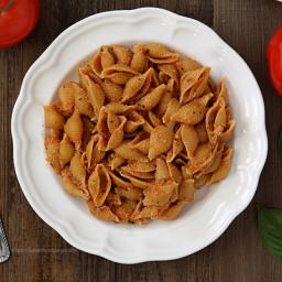 Caprese Pesto with Pasta