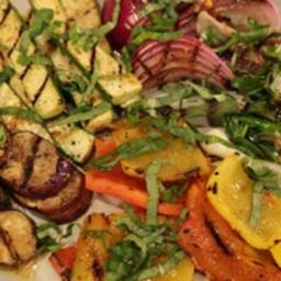 Capri-Style Vegetable Salad