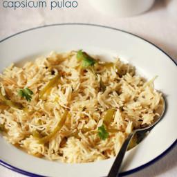 capsicum pulao