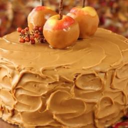 Caramel Apple Cake with Salted Caramel Buttercream