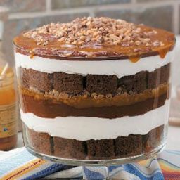 Caramel Chocolate Trifle Recipe