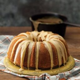Caramel-Glazed Brown Sugar Bundt Cake