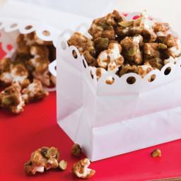 Caramel-Masala Popcorn and Pistachios from 'Salty Snacks' Recipe