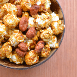 Caramel Popcorn with Nuts (Poppy Cock)