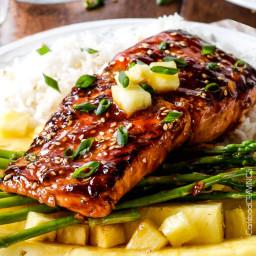Caramelized Asian BBQ Salmon