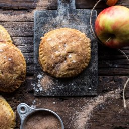 Caramelized Condensed Milk Mini Apple Pies.