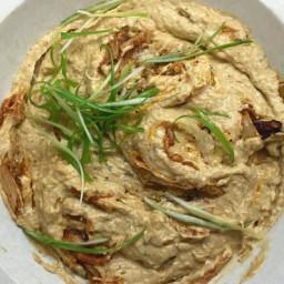 Caramelized Kimchi Baba Ghanoush