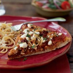 Caramelized Onion and Goat Cheese Pizza