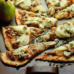 Caramelized Pear Flatbread
