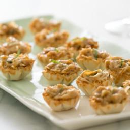 Caramelized Vidalia Onion and Goat Cheese Tartlets